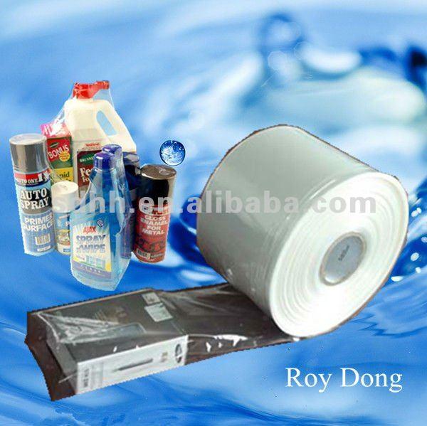 clear pof packaging plastic film