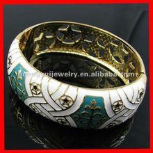 fashion gold epoxy bangle