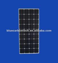 CE&ISO certificate 130w 12v mono solar panel