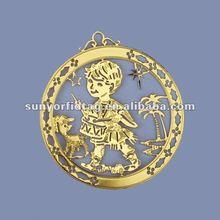 Golden supplier Metal crafts Christmas 2012