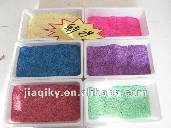 الرمال الملونة للأطفال