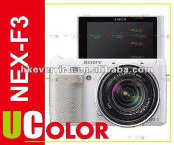 Genuine Sony NEX-F3 NEX-F3D Digital Camera + 16mm f/2.8 + 18-55mm 2 Lens Kit White