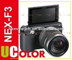 Genuine Sony NEX-F3 NEX-F3Y Digital Camera + 18-55mm + E 55-210mm 2 Lens Kit Black