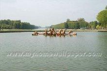 Paris Versailles square wallpaper special design (BH3003)