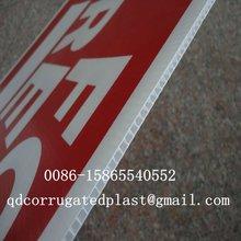 2012 Hot Sale White Polypropylene Corrugated Plastic