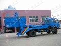 5000-8000l container caminhão de lixo,, recolha de lixo veículo