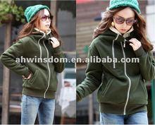 2012 ladies fashion leisure hoodie