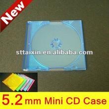 5.2mm colorful mini disc case
