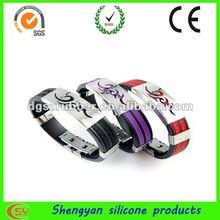 mass wholesale bracelets rubber for male