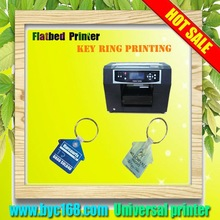 Flatbed key ring printer