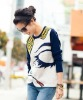 fashion street style ladies' t- shirt & blouse/ hot sale lady t shirt/ casual style(OEM)