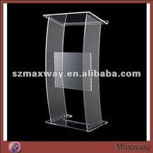 Clear Floor Collapisable Perspex Acrylic Speaker Dais Rostrum