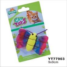 plastic toy cats