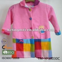 100% polyester coral fleece printed Children's robe