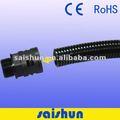 Parede dupla preto cabo protecção do duto corrugado/ pipe