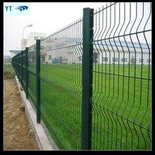 Green Plastic Garden Fence Panels