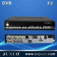 DVB-S2 1080P FULL HD +PVR+1 MULTI CAS+Ethernet fta mpeg4 receivers