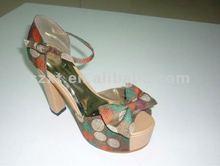 women platform shoes Cute round dots 2012 platform sandals