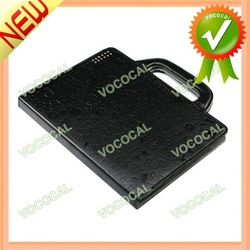 Leather Portfolio Cartoon Case for iPad 2 3