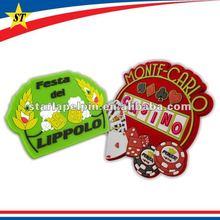 cute cheap custom Soft PVC 3d tourist souvenir fridge magnet