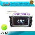 Généralistes de dvd de voiture de verso de Toyota, bonne qualité et vente chaude