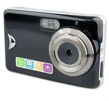 WINAIT 2012 New hot sale mini cheap gift digital camera, MAX.10.0Mega pixel 2.4'' TFT TOUCH SCREEN 8X digital zoom