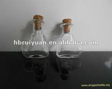 antique glass crystal wishing bottle