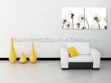 Simple and elegant living room wall art