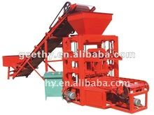 Qtj4-26 semi automática de ladrillo de cemento productor