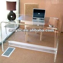 Clear Acrylic computer desk