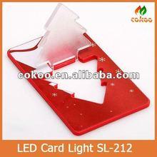 2012 Mini Pocket Led Credit Card Light