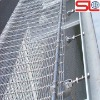 SS wall decorative metal curtain, stainless steel mesh curtain