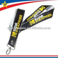 customized logo leather neck strap lanyard cheap camera novelty gifts