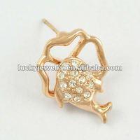 stud diamond earrings screw back