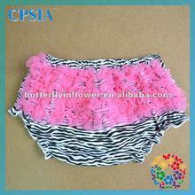 Zebra baby bloomers ruffle baby bloomer baby diaper cover