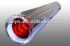 Three target solar heat collector vacuum tube
