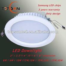 2012 factory cheap price mini led down light