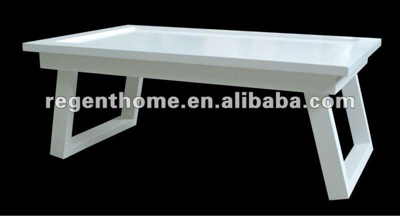 Peque a mesa plegable el cubo de madera mesa de caf - Mesa plegable pequena ...