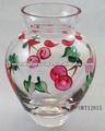 fantasia flor vaso de vidro