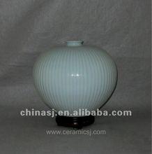 beautiful Handmade celadon ceramic storage jar WRYMA88