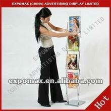 NEW Arrival!! (E05B01) Acrylic magazine stand manufacturer,manufacturer for magazine stand