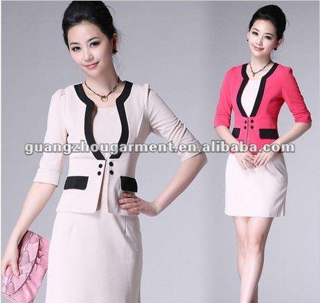 2012 mujer negocios trajes formales-Trajes-Identificación del ...