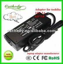 Genuine/Original/OEM 15v 5a 75W AC Adapter For Toshiba Satellite Notebook Series: Satellite M100-ST5211, PSMA0U-1EL00C, Satellit