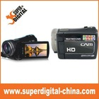 HD 720P 3.0 inch TFT screen VIdeo Cameras,Portable Personal Vidicon with PM3 player