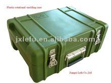 Lightweight waterproof plastic carrying tool case