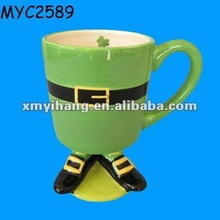 Party favor innovative ceramic irish coffee cup