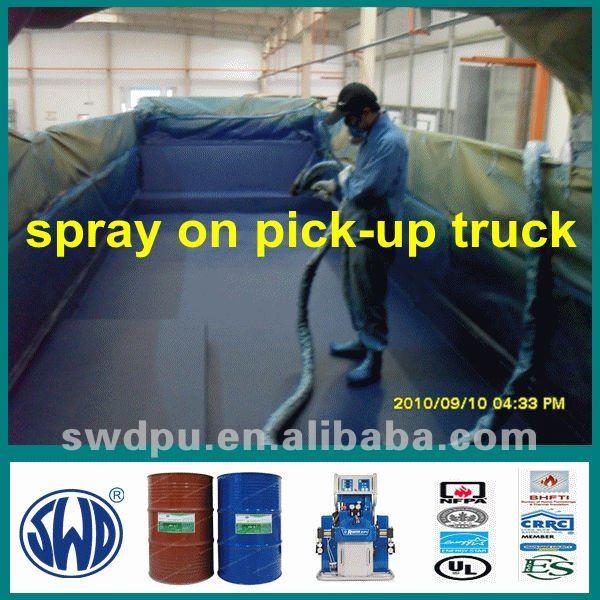 1 pack polyurethane spray industrial floor coating