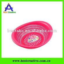 Promotional plastic food basket