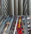 de acero de cuerda de alambre para los ascensores o elevadores