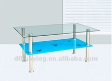 2012 Newest Hot-sale Colored Tempered Glass Table Tops